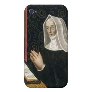 Portrait of Margaret Beaufort, Countess of Richmon Case For iPhone 4