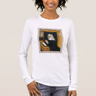 Portrait of Margaret Beaufort, Countess of Richmon Long Sleeve T-Shirt