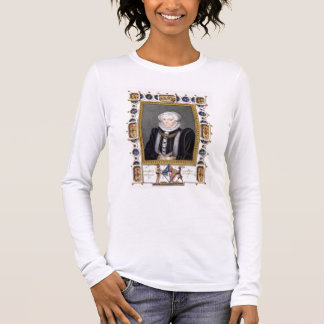 Portrait of Margaret Douglas (1515-78) Countess of Long Sleeve T-Shirt
