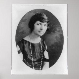 Portrait of Margaret Sanger Posters