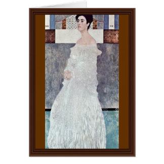 Portrait Of Margaret Stonborough-Wittgenstein Card