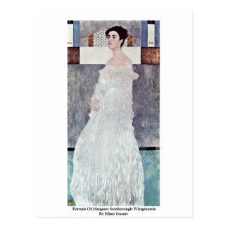 Portrait Of Margaret Stonborough-Wittgenstein Post Card