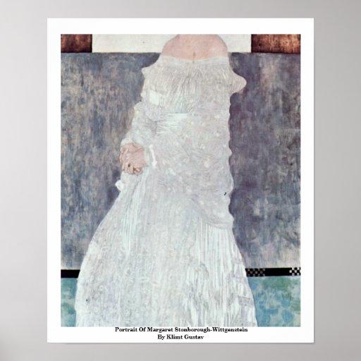 Portrait Of Margaret Stonborough-Wittgenstein Print