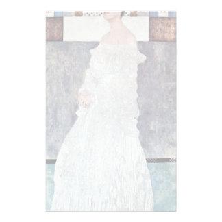 Portrait Of Margaret Stonborough-Wittgenstein Custom Stationery