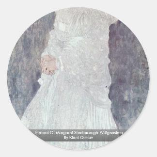 Portrait Of Margaret Stonborough-Wittgenstein Sticker