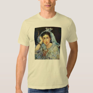 Portrait of Marguerite de Conflans by Manet T-shirts