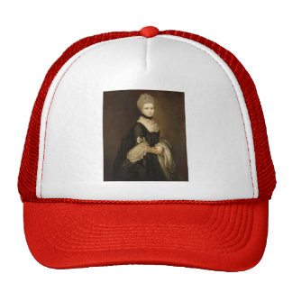 Portrait of Maria Walpole by Thomas Gainsborough Trucker Hat