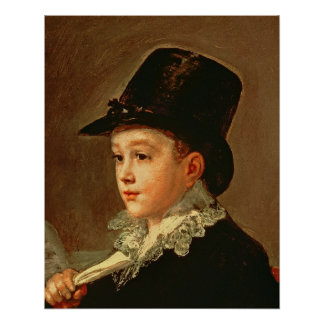 Portrait of Marianito Goya, c.1815 (oil on canvas)