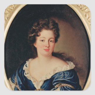 Portrait of Marie-Anne Mancini  Princess Colonna Square Sticker