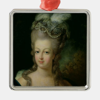 Portrait of Marie-Antoinette Christmas Ornament