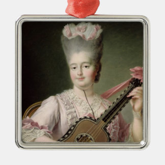 Portrait of Marie-Clothilde of France Christmas Ornament