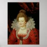 Portrait of Marie de Medici Poster