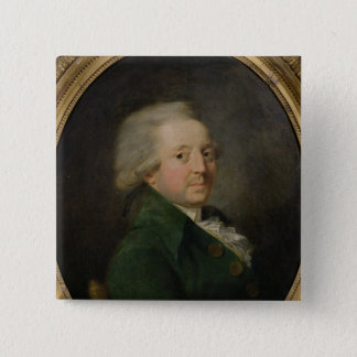 Portrait of Marie-Jean-Antoine-Nicolas 15 Cm Square Badge