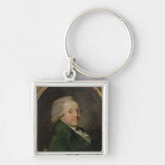 Portrait of Marie-Jean-Antoine-Nicolas Key Ring