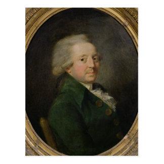 Portrait of Marie-Jean-Antoine-Nicolas Postcard