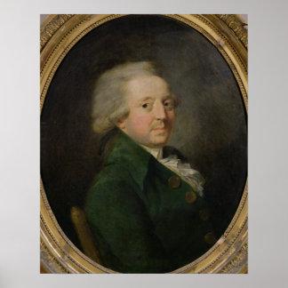 Portrait of Marie-Jean-Antoine-Nicolas Poster