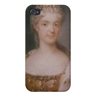 Portrait of Marie Leczinska  Queen of France iPhone 4 Covers