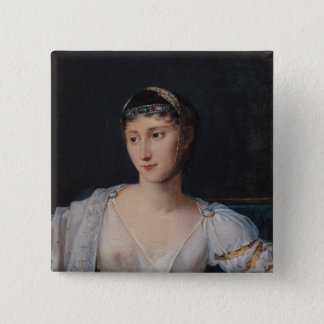 Portrait of Marie-Pauline Bonaparte 15 Cm Square Badge