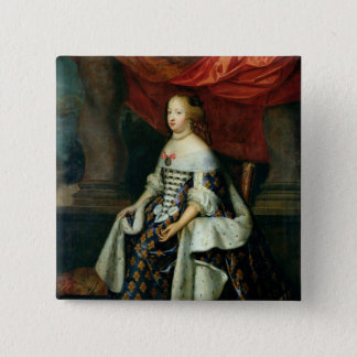 Portrait of Marie-Therese  of Austria 15 Cm Square Badge
