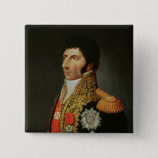 Portrait of Marshal Charles Jean Bernadotte 15 Cm Square Badge