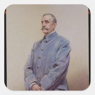 Portrait of Marshal Ferdinand Foch  1920 Sticker