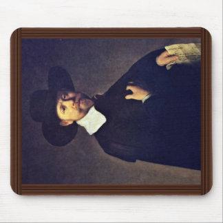 Portrait Of Marten Looten. By Rembrandt Van Rijn Mouse Pad