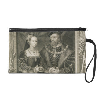 Portrait of Mary (1496-1533) Queen of France, and Wristlet Clutches
