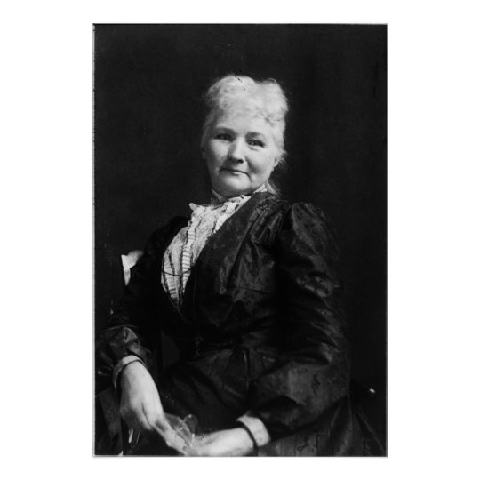 "Portrait of Mary ""Mother"" Jones Poster"