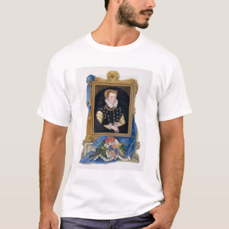Portrait of Mary Queen of Scots (1542-87) from 'Me T-Shirt
