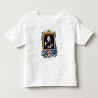 Portrait of Mary Queen of Scots (1542-87) from 'Me Tee Shirt