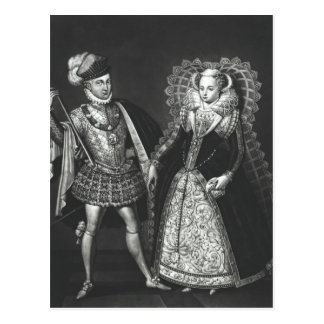 Portrait of Mary Queen of Scots Postcard
