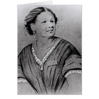 Portrait of Mary Seacole Card