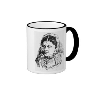 Portrait of Mary Seacole Ringer Coffee Mug