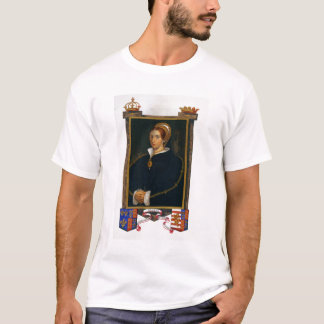 Portrait of Mary Tudor, from 'Memoirs of the Court T-Shirt