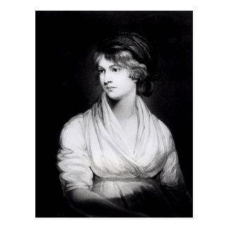 Portrait of Mary Wollstonecraft Godwin Postcard