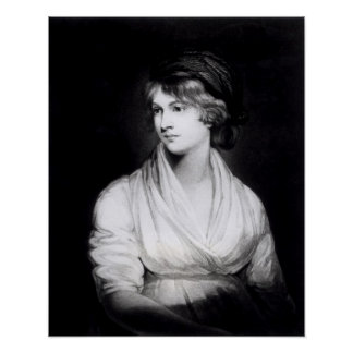 Portrait of Mary Wollstonecraft Godwin Poster