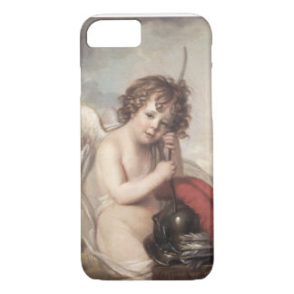 Portrait of Master Oswald Fawcett as Cupid (oil on iPhone 8/7 Case