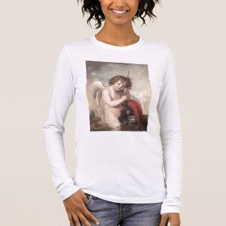 Portrait of Master Oswald Fawcett as Cupid (oil on Long Sleeve T-Shirt