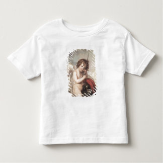 Portrait of Master Oswald Fawcett as Cupid (oil on Toddler T-Shirt