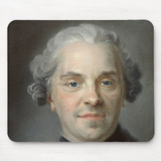 Portrait of Maurice, Comte de Saxe  1747 Mouse Mat