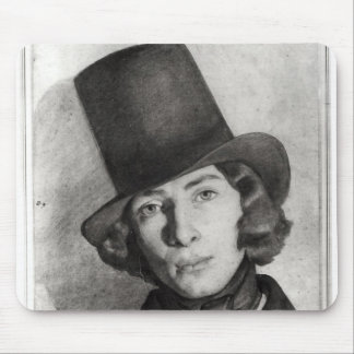 Portrait of Maurice Sand Mouse Mat