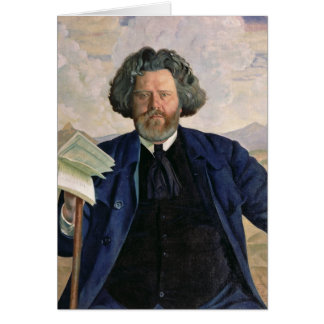 Portrait of Maximilian Voloshin  1924 Card