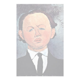 Portrait Of Mechanical By Modigliani Amedeo Personalized Stationery