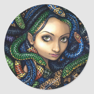 """Portrait of Medusa"" Sticker"