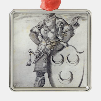 Portrait of Mehmed II Christmas Ornament
