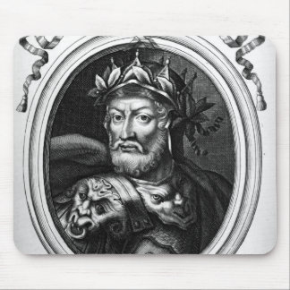 Portrait of Merovech  King of the Salian Franks Mouse Mat