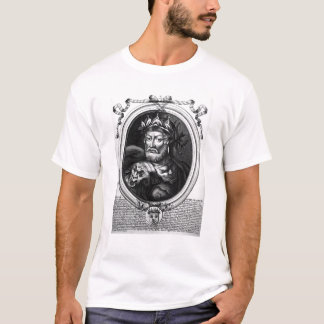 Portrait of Merovech  King of the Salian Franks T-Shirt