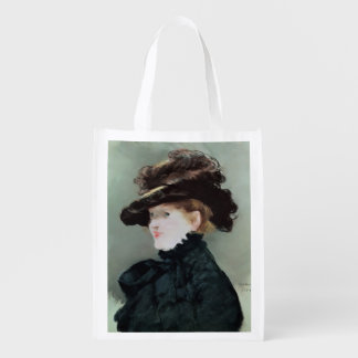 Portrait of Mery Laurent  1882 Reusable Grocery Bag