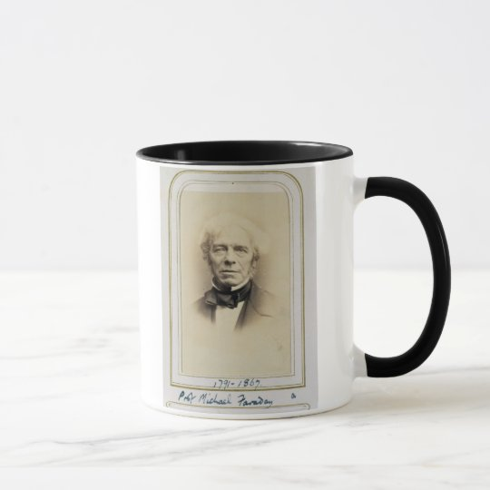 Portrait of Michael Faraday (1791-1867) (albumen p Mug