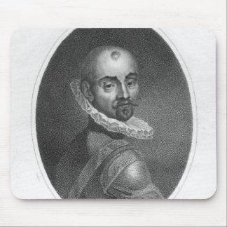 Portrait of Michel de Montaigne Mouse Pad